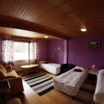Violetti huone